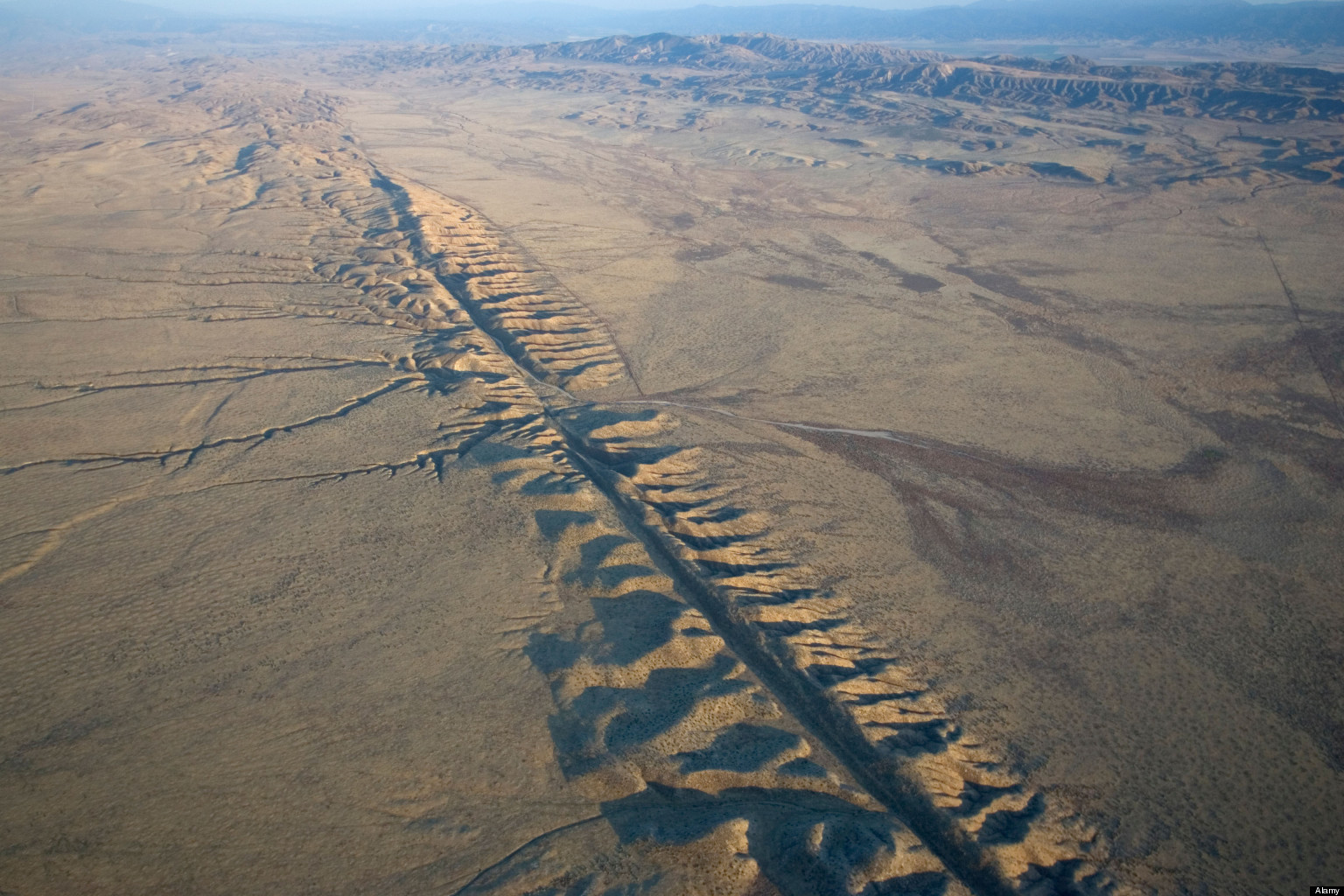 San Andreas Fault Map With Cities San andreas fault,one of